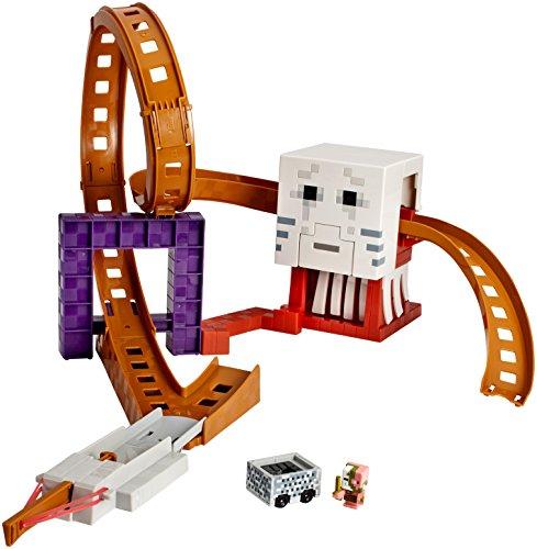 ホットウィール マテル ミニカー ホットウイール DPW28 【送料無料】Hot Wheels Minecraft Ghast Attack Track Setホットウィール マテル ミニカー ホットウイール DPW28