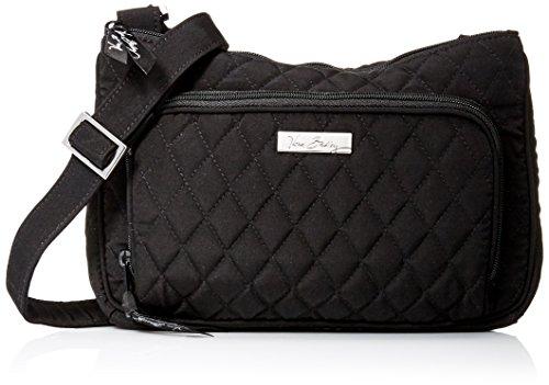 ヴェラブラッドリー ベラブラッドリー アメリカ フロリダ州マイアミ 日本未発売 15035-081 Vera Bradley Little Hipster Crossbody Shoulder Bag Purse in Classic Blackヴェラブラッドリー ベラブラッドリー アメリカ フロリダ州マイアミ 日本未発売 15035-081