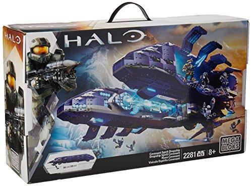 メガブロック メガコンストラックス ヘイロー 組み立て 知育玩具 DPJ95 【送料無料】Mega Bloks Halo Covenant Spirit Dropship Exclusive Set #31847メガブロック メガコンストラックス ヘイロー 組み立て 知育玩具 DPJ95