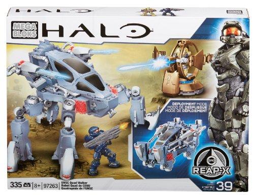 メガブロック メガコンストラックス ヘイロー 組み立て 知育玩具 CXK96 Mega Bloks Halo UNSC Quad Walkerメガブロック メガコンストラックス ヘイロー 組み立て 知育玩具 CXK96