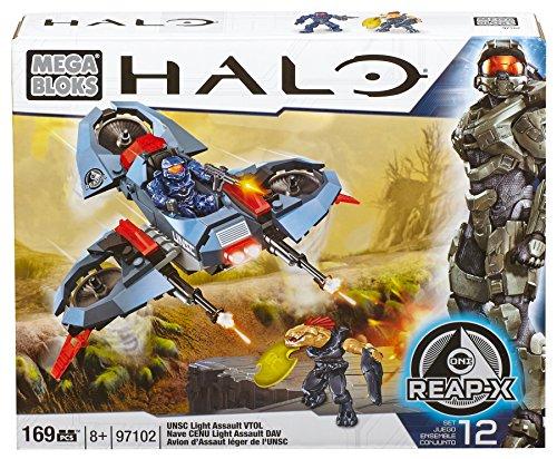 メガブロック メガコンストラックス ヘイロー 組み立て 知育玩具 DBB94 Mega Bloks Halo UNSC Light Assault VTOLメガブロック メガコンストラックス ヘイロー 組み立て 知育玩具 DBB94