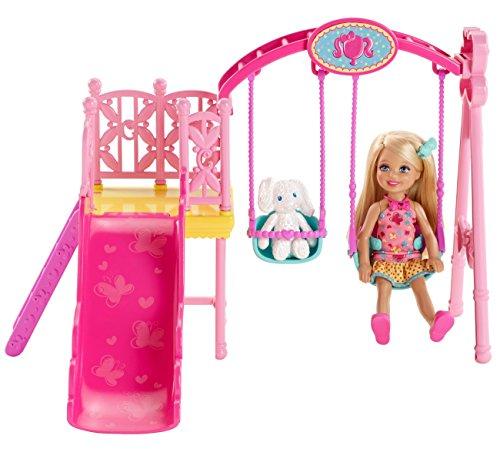 バービー バービー人形 チェルシー スキッパー ステイシー BDG48 【送料無料】Barbie Sisters Chelsea Swing Setバービー バービー人形 チェルシー スキッパー ステイシー BDG48