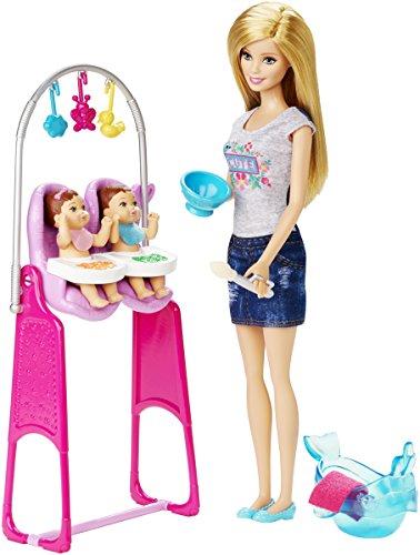 バービー バービー人形 バービーキャリア バービーアイキャンビー 職業 CKJ22 Barbie Careers Twin Babysitter Doll and Playsetバービー バービー人形 バービーキャリア バービーアイキャンビー 職業 CKJ22