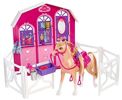 バービー バービー人形 日本未発売 プレイセット アクセサリ Y7554 【送料無料】Barbie and Her Sisters in a Pony Tale Stable Playsetバービー バービー人形 日本未発売 プレイセット アクセサリ Y7554