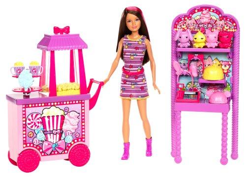 バービー バービー人形 チェルシー スキッパー ステイシー X9059 Barbie Sisters Popcorn & Souvenirs Playsetバービー バービー人形 チェルシー スキッパー ステイシー X9059