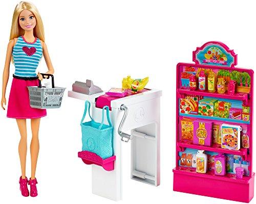 【送料無料】バービー人形と一緒にスーパーでお買い物★バービー&マーケット ショッピング プレイセット CKP77