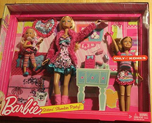 バービー バービー人形 チェルシー スキッパー ステイシー X1515 Barbie Sisters Slumber Party Set by Mattelバービー バービー人形 チェルシー スキッパー ステイシー X1515