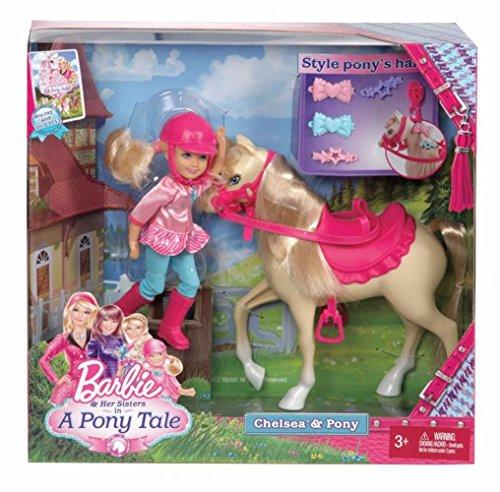 バービー バービー人形 チェルシー スキッパー ステイシー X8412 Barbie and Her Sisters in a Pony Tale Chelsea and Pony Doll Setバービー バービー人形 チェルシー スキッパー ステイシー X8412