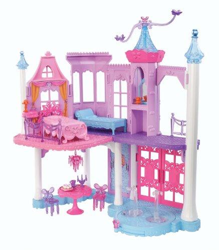 バービー バービー人形 ファンタジー 人魚 マーメイド Y6391 Barbie Mariposa and The Fairy Princess Castle Playset with Mini-Dollsバービー バービー人形 ファンタジー 人魚 マーメイド Y6391