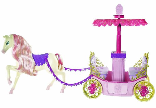 バービー バービー人形 日本未発売 プレイセット アクセサリ W3895 【送料無料】Barbie Princess Charm School Horse And Carriageバービー バービー人形 日本未発売 プレイセット アクセサリ W3895