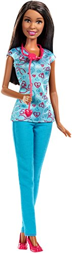 バービー バービー人形 バービーキャリア バービーアイキャンビー 職業 DGG42 Barbie Careers Nurse Doll, Brunette, Blueバービー バービー人形 バービーキャリア バービーアイキャンビー 職業 DGG42