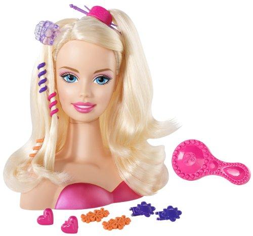 バービー バービー人形 スタイリングヘッド スタイルヘッド スタイルドールヘッド V0835 Barbie Blonde Styling Head