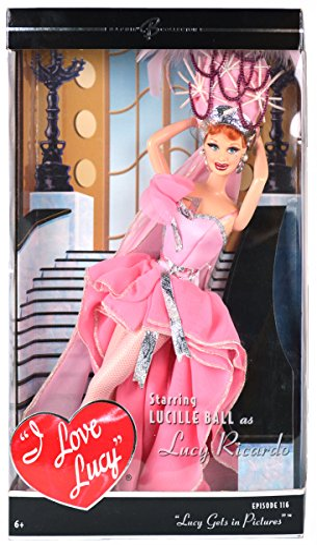 無料ラッピングでプレゼントや贈り物にも。逆輸入・並行輸入多数 バービー バービー人形 バービーコレクター コレクタブルバービー プラチナレーベル J0878 Barbie Collector I Love Lucy, Lucy Gets In Pictures Lucy Dollバービー バービー人形 バービーコレクター コレクタブルバービー プラチナレーベル J0878