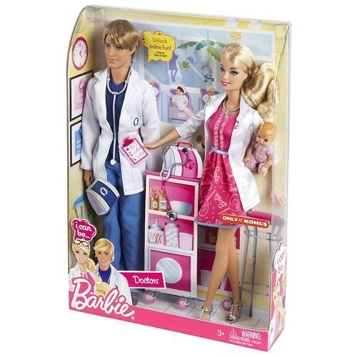バービー バービー人形 バービーキャリア バービーアイキャンビー 職業 03094 【送料無料】Barbie I Can Be Doctors Barbie and Ken Dolls Exclusiveバービー バービー人形 バービーキャリア バービーアイキャンビー 職業 03094