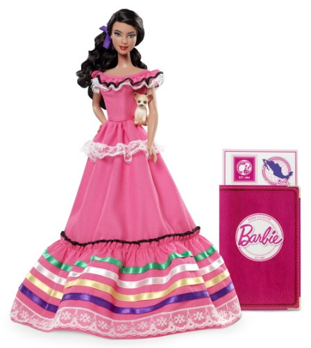 バービー バービー人形 ドールオブザワールド ドールズオブザワールド ワールドシリーズ W3374 【送料無料】Barbie Collector Dolls of The World Mexico Dollバービー バービー人形 ドールオブザワールド ドールズオブザワールド ワールドシリーズ W3374