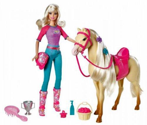 バービー バービー人形 日本未発売 プレイセット アクセサリ V5721 【送料無料】Barbie Doll and Tawny Horse Playsetバービー バービー人形 日本未発売 プレイセット アクセサリ V5721