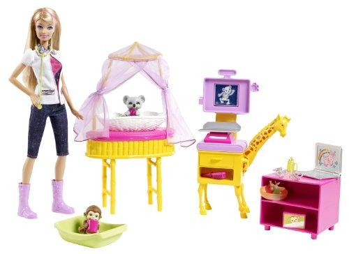バービー バービー人形 バービーキャリア バービーアイキャンビー 職業 W2760 Barbie I Can Be Zoo Doctor Doll Playsetバービー バービー人形 バービーキャリア バービーアイキャンビー 職業 W2760
