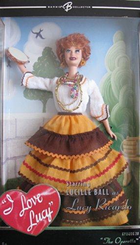 バービー バービー人形 バービーコレクター コレクタブルバービー プラチナレーベル 【送料無料】BARBIE I Love LUCY The OPERETTA DOLL Episode 38 BARBIE COLLECTOR (2005)バービー バービー人形 バービーコレクター コレクタブルバービー プラチナレーベル