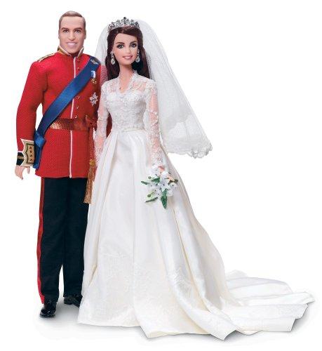 バービー バービー人形 ウェディング ブライダル 結婚式 W3420 【送料無料】Barbie William and Catherine (Kate Middleton) Royal Wedding Collector Gold Label Exclusive Doll Giftsetバービー バービー人形 ウェディング ブライダル 結婚式 W3420