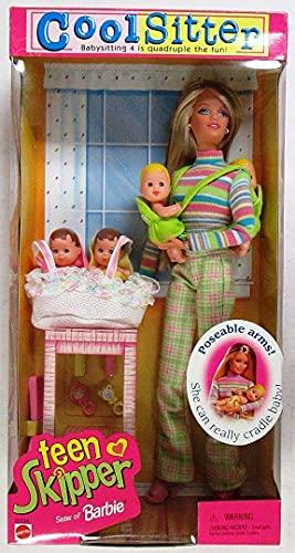 バービー バービー人形 チェルシー スキッパー ステイシー Barbie - Cool Sitter Teen Skipper Doll w/ 4 Babies Quadruplets! (1998)バービー バービー人形 チェルシー スキッパー ステイシー