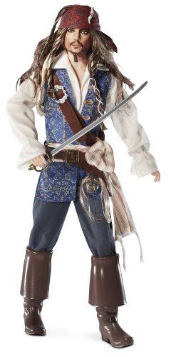バービー バービー人形 バービーコレクター コレクタブルバービー プラチナレーベル T7654 Barbie Collector Pirates of The Caribbean: On Stranger Tides Captain Jack Sparroバービー バービー人形 バービーコレクター コレクタブルバービー プラチナレーベル T7654