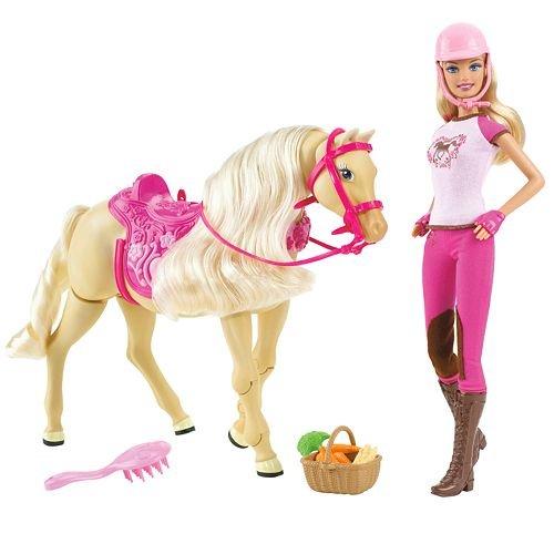 バービー バービー人形 日本未発売 プレイセット アクセサリ Barbie? Tawny Walking Horse & Doll Setバービー バービー人形 日本未発売 プレイセット アクセサリ