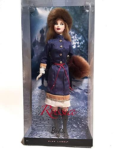 バービー バービー人形 ドールオブザワールド ドールズオブザワールド ワールドシリーズ R4488 Barbie Dolls of The World Russia Barbie Dollバービー バービー人形 ドールオブザワールド ドールズオブザワールド ワールドシリーズ R4488