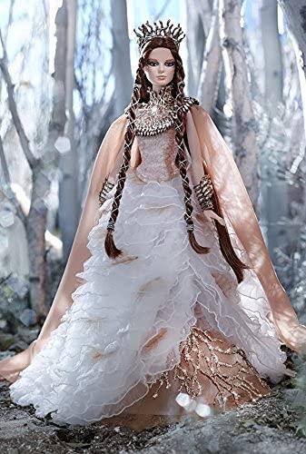バービー バービー人形 バービーコレクター コレクタブルバービー プラチナレーベル Barbie Faraway Forest Collection - Lady of the White Woods - GOLD LABEL Direct Exclusive!バービー バービー人形 バービーコレクター コレクタブルバービー プラチナレーベル