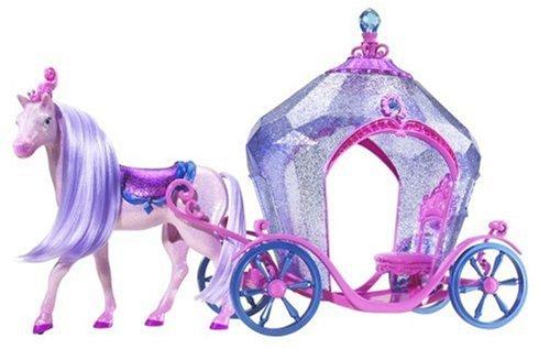 バービー バービー人形 日本未発売 プレイセット アクセサリ M0810 Barbie The Diamond Castle Horse and Carriageバービー バービー人形 日本未発売 プレイセット アクセサリ M0810