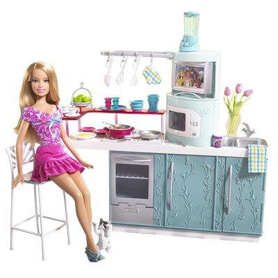 バービー バービー人形 日本未発売 プレイセット アクセサリ L0059 Barbie Kitchen & Doll Kitchen Gift Setバービー バービー人形 日本未発売 プレイセット アクセサリ L0059