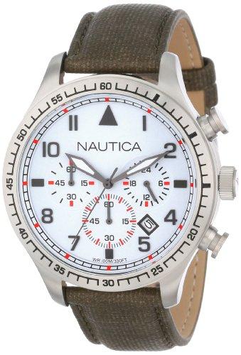 腕時計 ノーティカ メンズ N16580G 【送料無料】Nautica Unisex N16580G BFD 105 Chrono Watch腕時計 ノーティカ メンズ N16580G