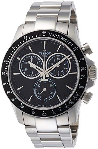 ティソ 腕時計 メンズ T1064171105100 【送料無料】Tissot V8 T106.417.11.051.00 Black/Silver Stainless Steel Analog Quartz Men's Watchティソ 腕時計 メンズ T1064171105100