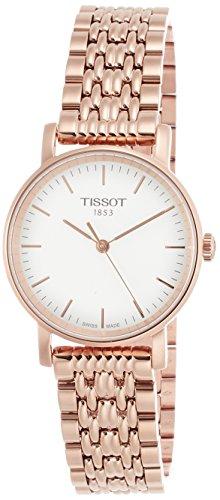 ティソ 腕時計 レディース T1092103303100 【送料無料】Tissot Silver Dial Rose Gold Tone Stainless Steel Ladies Watch T1092103303100ティソ 腕時計 レディース T1092103303100
