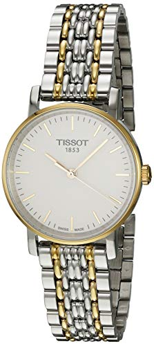 ティソ 腕時計 レディース T1092102203100 Tissot Women's Quartz Watch with Stainless-Steel Strap, Two Tone, 14 (Model: T1092102203100)ティソ 腕時計 レディース T1092102203100
