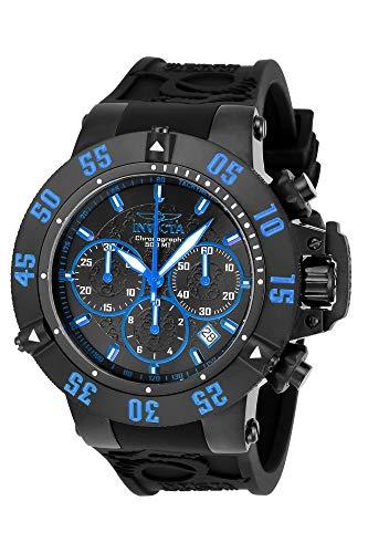 インヴィクタ インビクタ サブアクア 腕時計 メンズ 22925 【送料無料】Invicta Men's Subaqua Stainless Steel Quartz Watch with Silicone Strap, Black, 28 (Model: 22925)インヴィクタ インビクタ サブアクア 腕時計 メンズ 22925