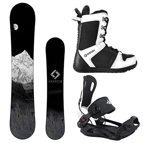 スノーボード ウィンタースポーツ システム 2017年モデル2018年モデル多数 System Package MTN CRCX Snowboard-156 cm MTN Binding Medium APX Snowboard Boots-8スノーボード ウィンタースポーツ システム 2017年モデル2018年モデル多数