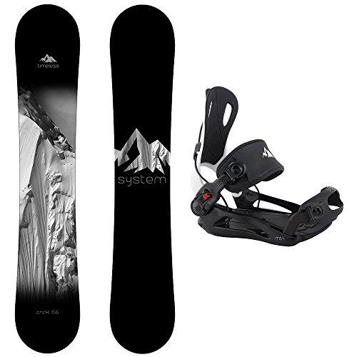 スノーボード ウィンタースポーツ システム 2017年モデル2018年モデル多数 System Package Timeless Snowboard 163 cm Wide MTN Binding Largeスノーボード ウィンタースポーツ システム 2017年モデル2018年モデル多数