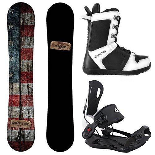 スノーボード ウィンタースポーツ キャンプセブン 2017年モデル2018年モデル多数 Camp Seven Package Drifter CRCX Snowboard-156 cm-System MTN Binding XL-System APX Snowboard Boots スノーボード ウィンタースポーツ キャンプセブン 2017年モデル2018年モデル多数