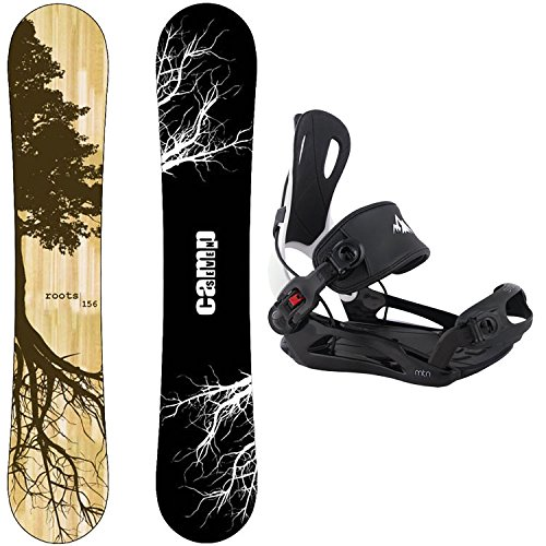スノーボード ウィンタースポーツ キャンプセブン 2017年モデル2018年モデル多数 Camp Seven Package Roots CRC 2018 Snowboard-158 cm Wide-System MTN Binding XLスノーボード ウィンタースポーツ キャンプセブン 2017年モデル2018年モデル多数