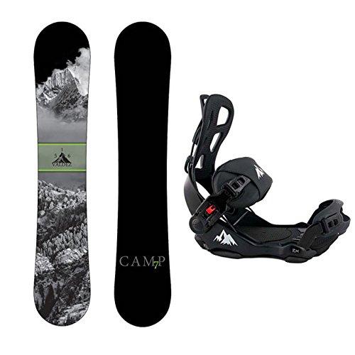 スノーボード ウィンタースポーツ キャンプセブン 2017年モデル2018年モデル多数 Camp Seven Package Valdez Snowboard 163 cm Wide-System LTX Binding Largeスノーボード ウィンタースポーツ キャンプセブン 2017年モデル2018年モデル多数