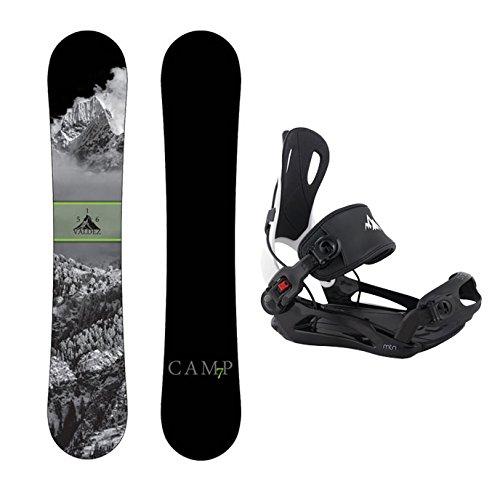 スノーボード ウィンタースポーツ キャンプセブン 2017年モデル2018年モデル多数 Camp Seven Package Valdez Snowboard 156 cm-System MTN Binding Largeスノーボード ウィンタースポーツ キャンプセブン 2017年モデル2018年モデル多数