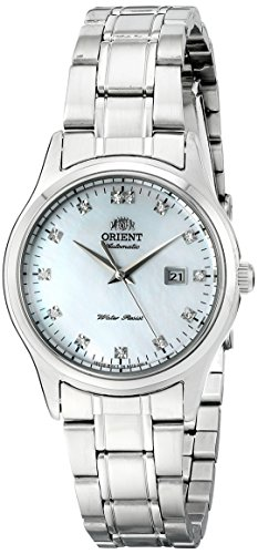 オリエント 腕時計 レディース FNR1Q004W0 Orient Women's FNR1Q004W0 Charlene Analog Display Japanese Automatic Silver Watchオリエント 腕時計 レディース FNR1Q004W0