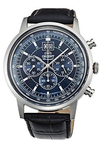 オリエント 腕時計 レディース TV02003D 【送料無料】ORIENT Big-Date Classic Quartz Chronograph Dress Watch TV02003Dオリエント 腕時計 レディース TV02003D