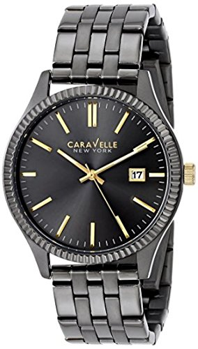 ブローバ 腕時計 メンズ 45B120 Caravelle New York Men's 45B120 Stainless Steel Watch with Analog Displayブローバ 腕時計 メンズ 45B120