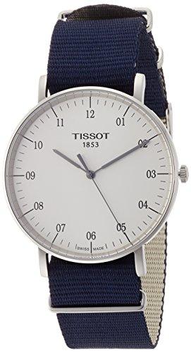 ティソ 腕時計 メンズ T1096101703700 【送料無料】Tissot Unisex Everytime Large NATO - T1096101703700 Silver/Blue One Sizeティソ 腕時計 メンズ T1096101703700