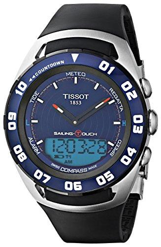 ティソ 腕時計 メンズ T0564202704100 【送料無料】Tissot Sailing-Touch Mens Blue Face Multi-Function Watch T056.420.27.041.00ティソ 腕時計 メンズ T0564202704100