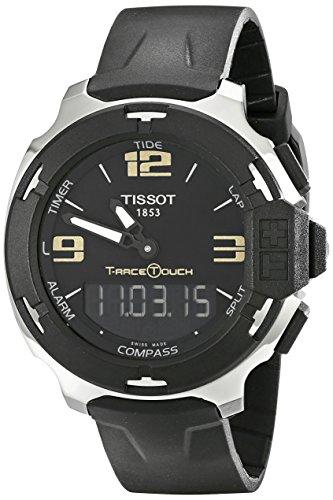 ティソ 腕時計 メンズ TIST0814201705700 Tissot Men's TIST0814201705700 T-Race Touch Analog-Digital Black Watchティソ 腕時計 メンズ TIST0814201705700