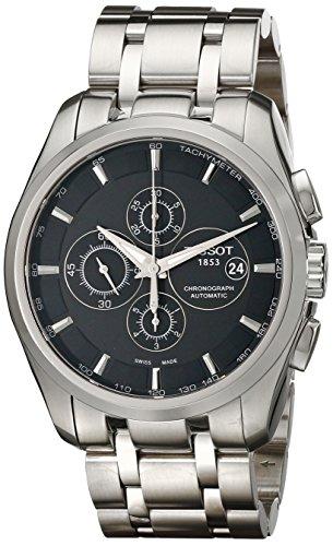 ティソ 腕時計 メンズ T0356271105100 【送料無料】Tissot Men's T0356271105100 Couturier Chronograph Watchティソ 腕時計 メンズ T0356271105100