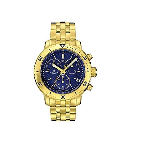 腕時計 ティソ メンズ T0674173304101 【送料無料】Tissot PRS 200 Chronograph Blue Dial Men's Watch T067.417.33.041.01腕時計 ティソ メンズ T0674173304101
