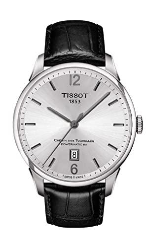 ティソ 腕時計 メンズ T0994071603700 【送料無料】Tissot Men's Chemin Des Tourelles Stainless Steel Swiss-Automatic Watch with Leather Strap, Black, 20 (Model: T0994071603700)ティソ 腕時計 メンズ T0994071603700